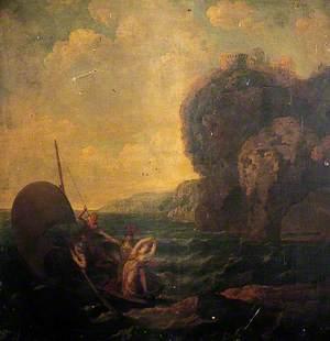 A Boat at Sea (The Rescue)