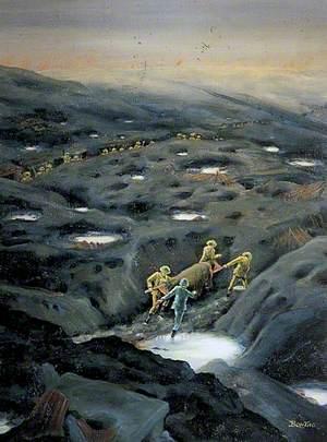 Stretcher Bearers, Passchendaele, Belgium, 4 October 1917