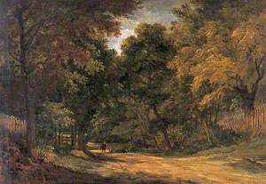A Lane at Cobham, Kent
