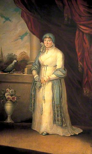 Anna Spong (1763–1841), Wife of Captain Charles Mansfield