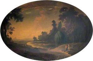 Landscape, River and Figures