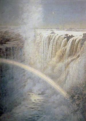 The Lunar Rainbow, Victoria Falls, Rhodesia