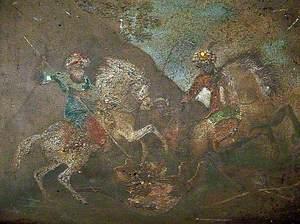 Mounted Turbaned Warriors