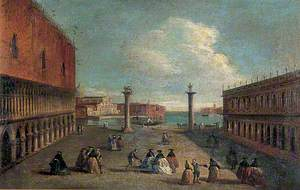 View of the Piazzetta, Venice