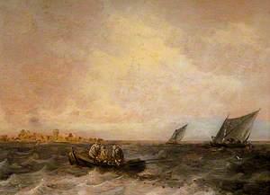 Sea Piece, Fishermen