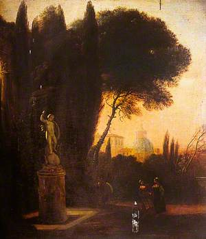 View in the Farnese Palace Gardens, Rome