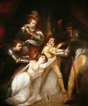 The Murder of Edward, Prince of Wales, at Tewkesbury