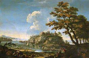Landscape with Fishermen