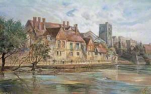 River Scene at Maidstone, Kent