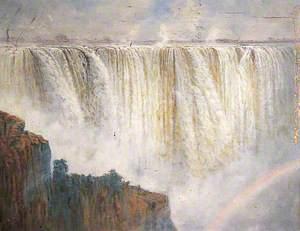 The Main Fall, Victoria Falls, Rhodesia