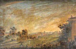Northwest View of Maidstone, Kent