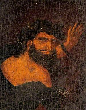 Portrait of a Bearded Man Waving (Despair)