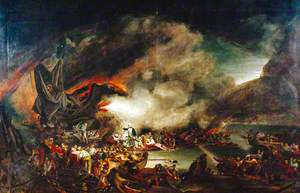 The Scene before Gibraltar