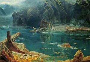 Sinbad Entering the Cavern