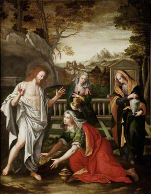 Christ Appears to the Three Marys