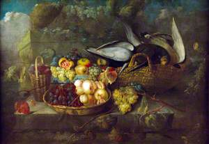 Still Life with Pigeons