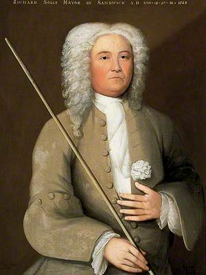 Richard Solly, Mayor (1718, 1728, 1736 & 1749)