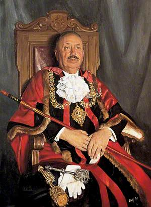 Alderman Leslie Chalk, Mayor of Tenterden
