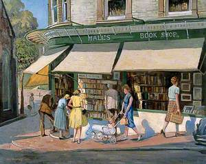 Hall's Bookshop, Chapel Place, Tunbridge Wells, Kent