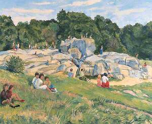 On the Rocks (Wellington Rocks, Tunbridge Wells Common, Kent)