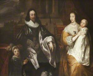 Charles I (1600–1649) and His Family