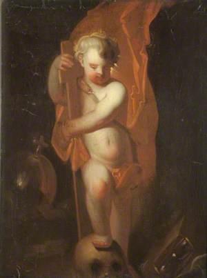 The Infant Christ as Salvator Mundi