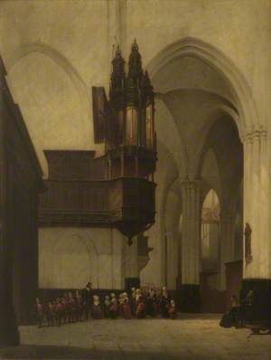 Church Interior, Amsterdam