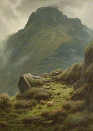 Y Garn Mountains