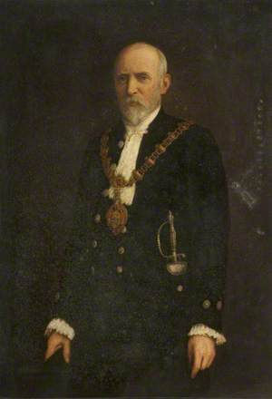 Councillor Dr James T. Ballantyne, Mayor of Darwen (1898)