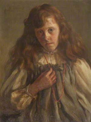 Girl with a Necklace