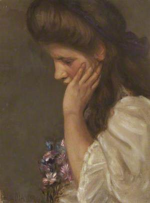Girl with a Posy