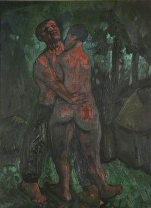 Untitled and Two Figures in a Wood