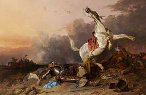 The Death of Sir William Lambton at the Battle of Marston Moor