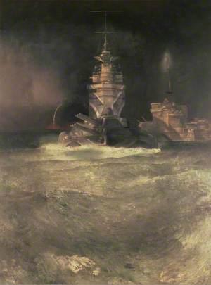 D-Day, Reconstruction (Battleships at Sea)