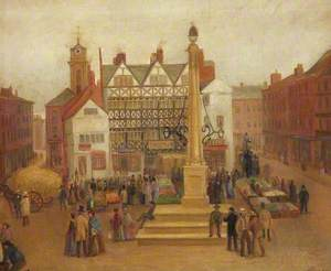 Preston Market in the Olden Days