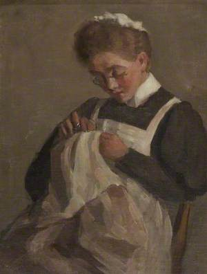 The Sewing Maid