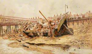 Wreck of the 'Sirene', Blackpool