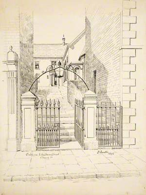 Entrance to Unitarian Chapel, Church Street