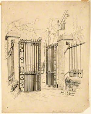 Gates of Patten House at Howick