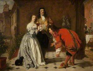 A Scene from 'Le Bourgeois Gentilhomme'