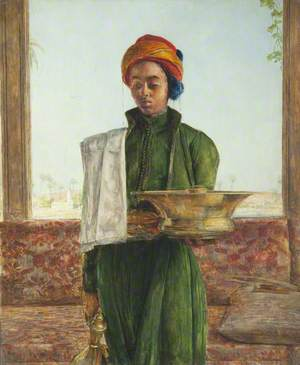 The Attendant on the Bath
