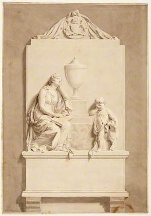 Monument to Mrs Howard of Corby, Cumberland