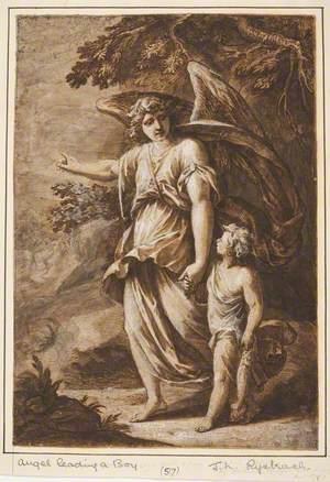 Angel Leading a Boy