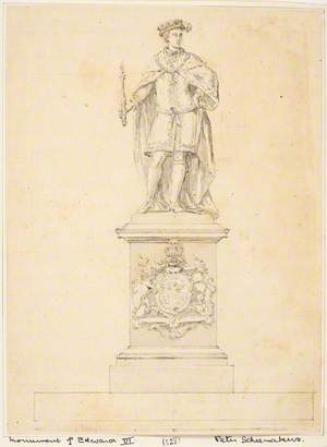 Design for a Statue of Edward VI
