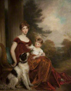 Mrs Anderson and Her Son William