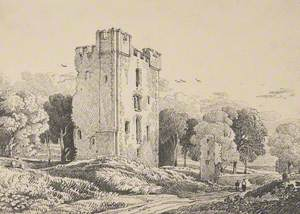Helmesly Castle, Yorkshire