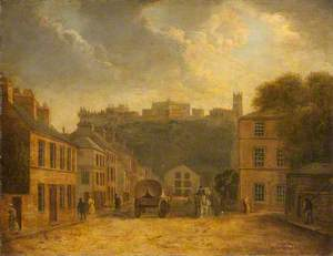 Lancaster Castle from Cable Street