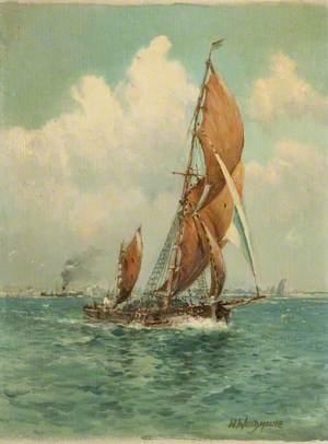 Sailing Ships and Steamer