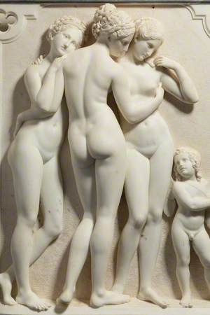 The Three Graces and Cupid