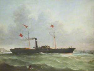 'Royal Consort' Paddle Steamer